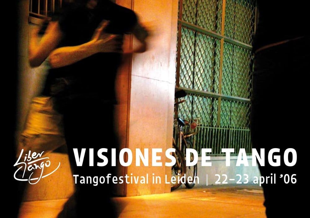 flyer Libertango Festival 2006