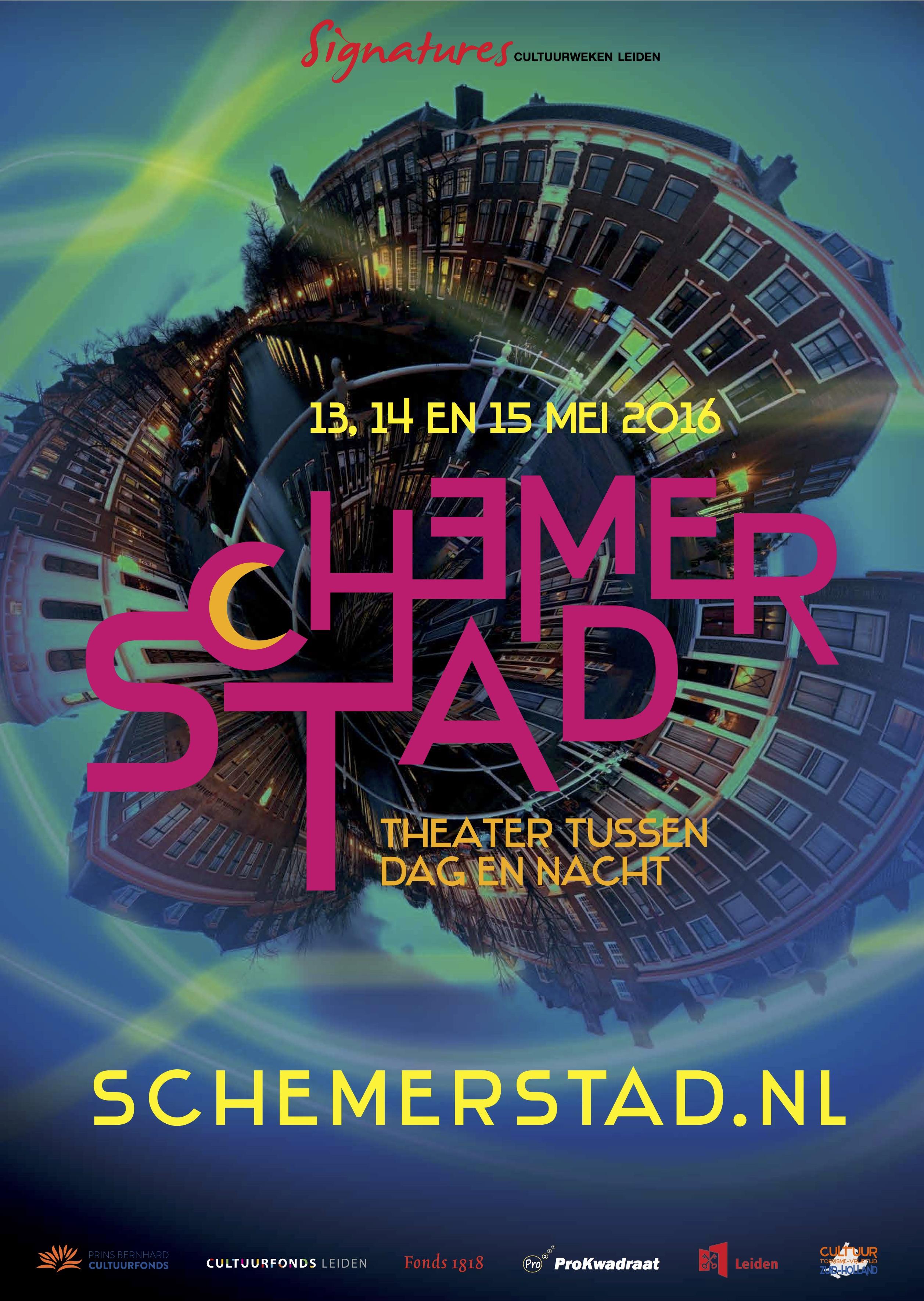 poster schemerstad 2016