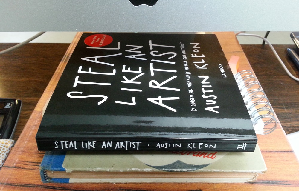 austin kleon steal like an artist Stealing is not a crime -- at least when you're stealing ideas from a variety of artists that's the basis of austin kleon's book steal like an artist: 10.