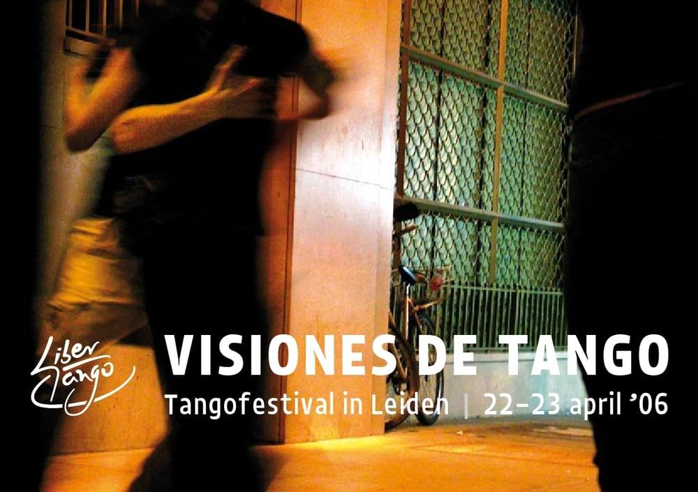 flyer Libertango Festival 2006