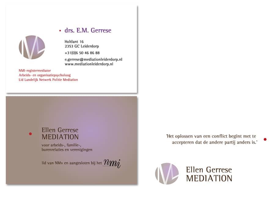 Huisstijl Ellen Gerrese Mediation