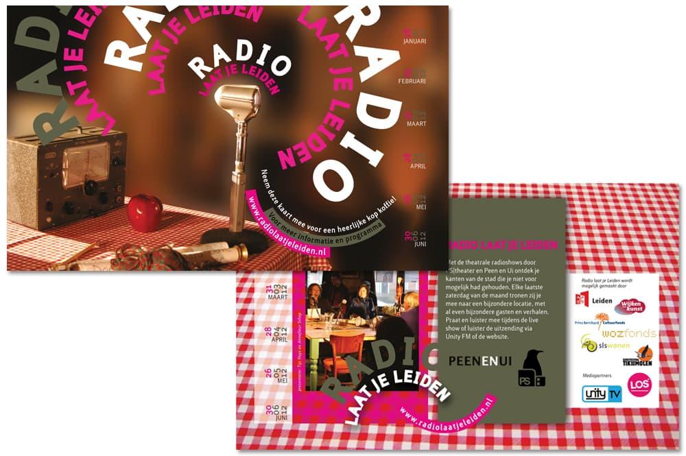Radio laat je Leiden