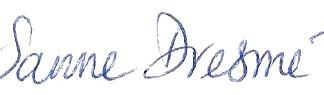 Logo Sanne Dresmé