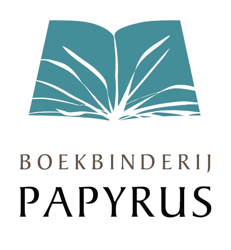 Boekbinderij Papyrus logo herzien
