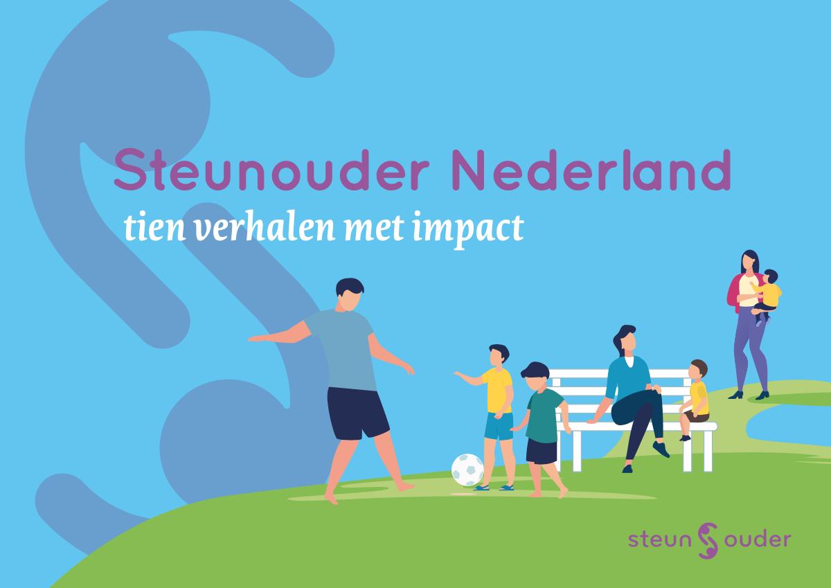 Steunouder Nederland brochure Sanne Dresmé Lokaal7a