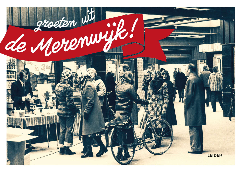 Verhuiskaart Groeten uit de Merenwijk Lokaal7a