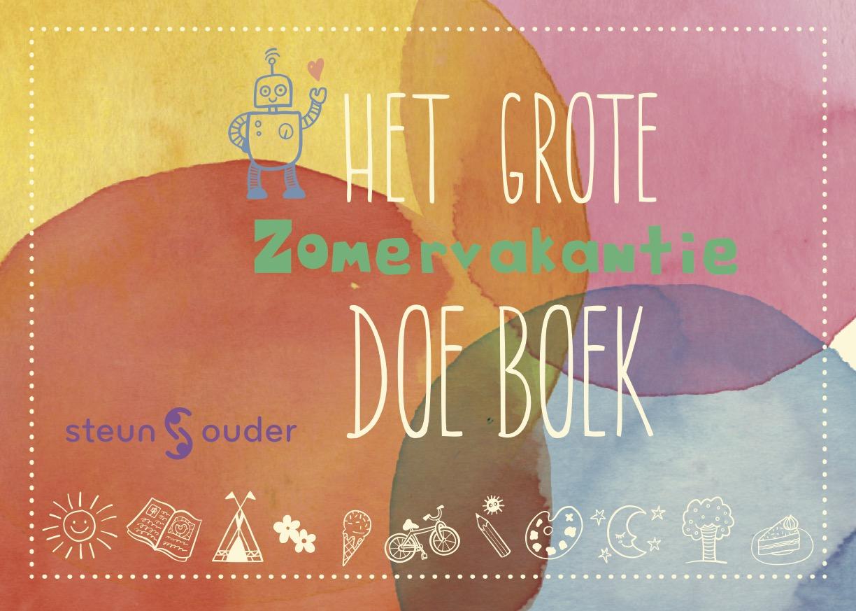 Stichting Steunouder Het Grote Zomervakantie Doe Boek
